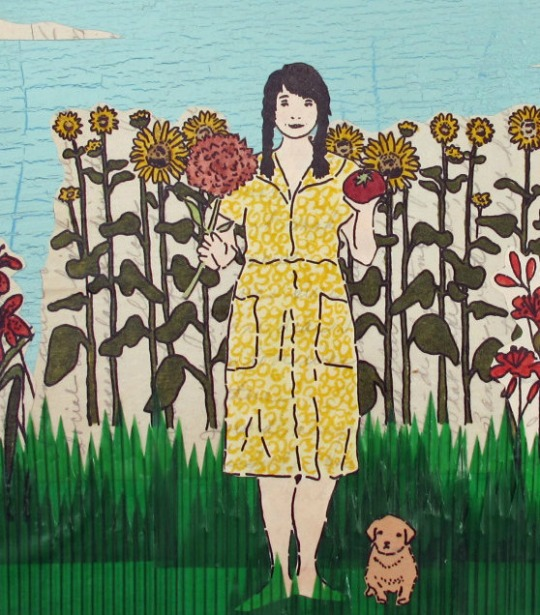 Gardens and a Puppy by Amy Rice